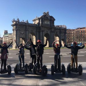 segway madrid full