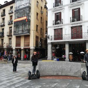 Segway Barrio de las Letras